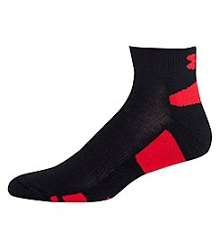Under Armour® Men's 3-Pack HeatGear Low Cut Socks