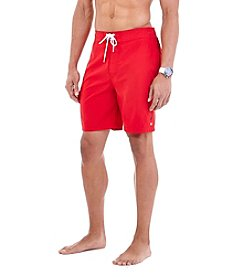 Nautica® Men's Big & Tall Solid Cargo Swim Trunks