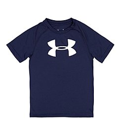 Under Armour® Boys' 4-7 Short Sleeve Big Logo Tee