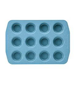 Paula Deen® Gulf Blue Speckle 12-Cup Muffin and Cupcake Pan