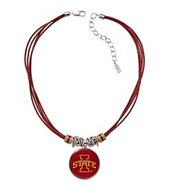 accessory PLAYS™ NCAA® Iowa State Cyclones Multi Row Cord Pendant Necklace