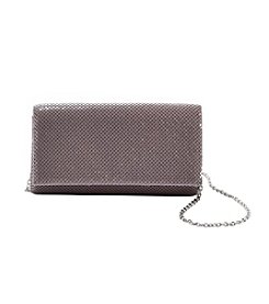 La Regale® Mesh Flap Wallet Clutch