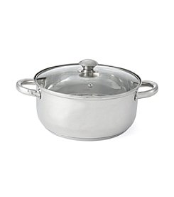 Chef's Quarters® Stainless Steel 5.5-Qt. Dutch Oven