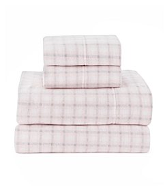 Living Quarters Window Pane Cold Weather Fleece Ultra Warm Sheet Set