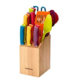 Farberware® 18-pc. Slice & Store Cutlery Set