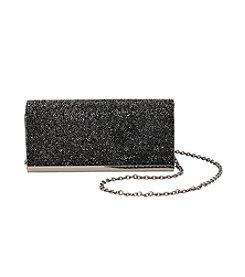 La Regale® Pyramid Bead Flap Clutch