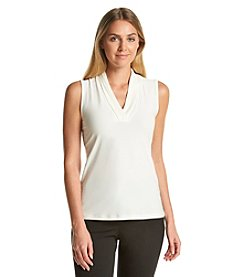 Anne Klein® V-Neck Top