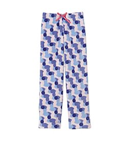 Calvin Klein Girls' 5-16 Hearts Fleece Pajama Pants