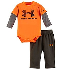 Under Armour® Baby Boys 2-Piece Layered Bodysuit And Pants Set