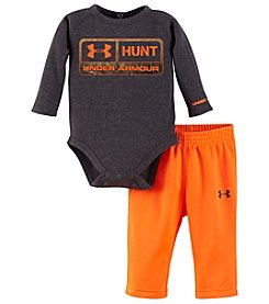 Under Armour® Baby Boys 2-Piece Hunt Bodysuit And Pants Set