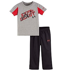 Under Armour® Baby Boys 2-Piece 100% Beast Tee And Pants Set
