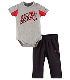 Under Armour® Baby Boys 2-Piece 100% Beast Bodysuit And Pants Set