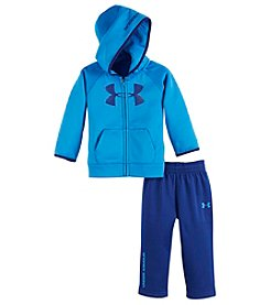 Under Armour® Baby Boys 2-Piece Big Logo Hoodie And Pants Set