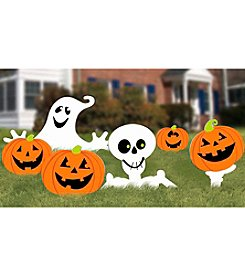 Set of 6 Halloween Lawn Sign