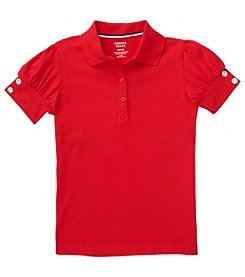 French Toast; Girls' 4-16 Puff-Sleeve Polo