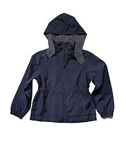 French Toast; Girls' 4-5 Detachable-Hood Jacket