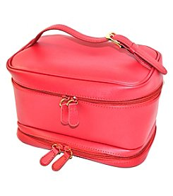 Royce® Leather Luxury Travel Cosmetic Makeup Bag