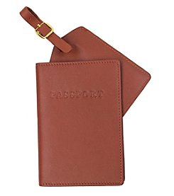 Royce® Leather Luxury RFID Travel Gift Set