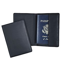 Royce® Leather RFID Blocking Passport Travel Document Organizer