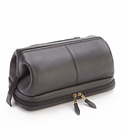 Royce® Leather Executive Toiletry Travel Wash Bag