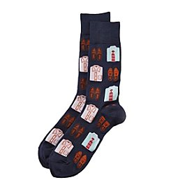 Hot Sox® Men's Shirt And Loafers Dress Socks