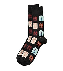 Hot Sox® Men's Shirts And Loafers Dress Socks