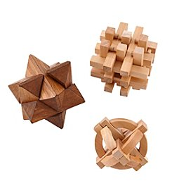 Cheer 3 Piece Wood Puzzles