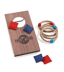 Cheer 2-In-1 Bag And Ring Toss Game