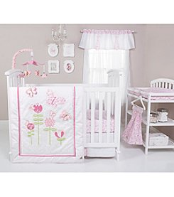 Trend Lab Floral Fun 6 Piece Crib Set