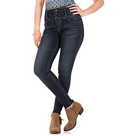 Wallflower® Sassy Pushin And Push Up High Rise Skinny Jeans