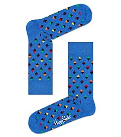 Happy Socks® Men's Mini Diamond Dress Socks