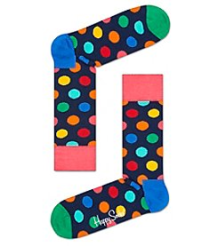 Happy Socks® Men's Big Dot Dress Socks
