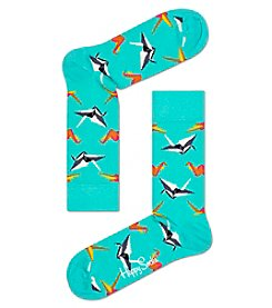 Happy Socks® Men's Origami Dress Socks