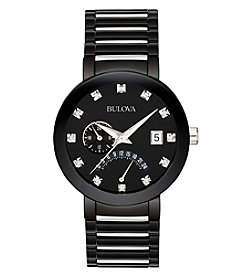 Bulova® Men's Diamond Accent Watch