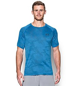 Under Armour® Men's Short Sleeve Jacquard UA Tech™ Tee