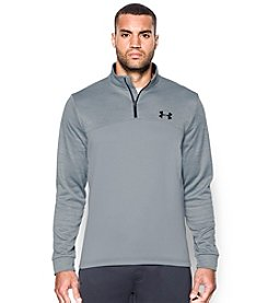 Under Armour® Men\u0027s Long Sleeve Icon Quarter-Zip Fleece Pullover