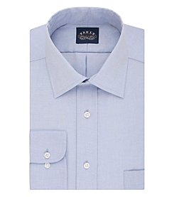 Eagle® Men's Non Iron Stretch Regular Fit Pinpoint Dress Shirt