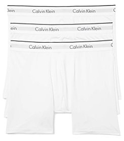 Calvin Klein Men's 3-Pack Micro Stretch Trunks