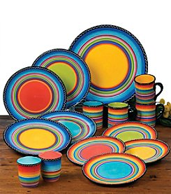 Certified International by Nancy Green Tequila Sunrise Dinnerware Collection