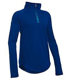 Under Armour® Girls' 7-10 Quarter Zip Tech Pullover