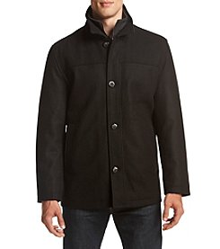 London Fog® Men's Wool Button Front Coat