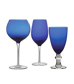 Certified International Cobalt Stemware