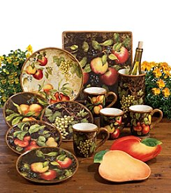 Certified International by Susan Winget Capri Dinnerware Collection