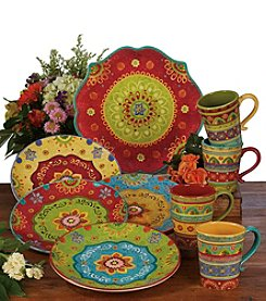 Certified International by Sue Zipkin Tunisian Sunset Dinnerware Collection