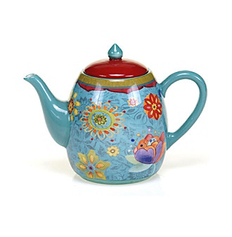 Certified International by Sue Zipkin Tunisian Sunset 40-oz. Teapot
