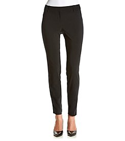 Relativity® Skinny Fly Front Pants