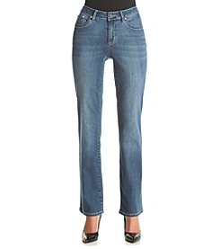 Earl Jean® Bootcut Jeans With Bling Flap Pockets