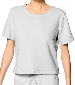 HUE® Quited Pajama Top