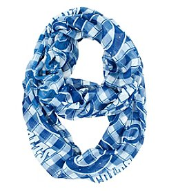 Little Earth NFL® Indianapolis Colts Plaid Infinity Scarf