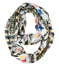 Little Earth NFL® Pittsburgh Steelers Plaid Infinity Scarf